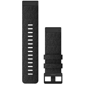 Garmin QuickFit Bracelet de montre en nylon 26mm pour Fenix 6X, black